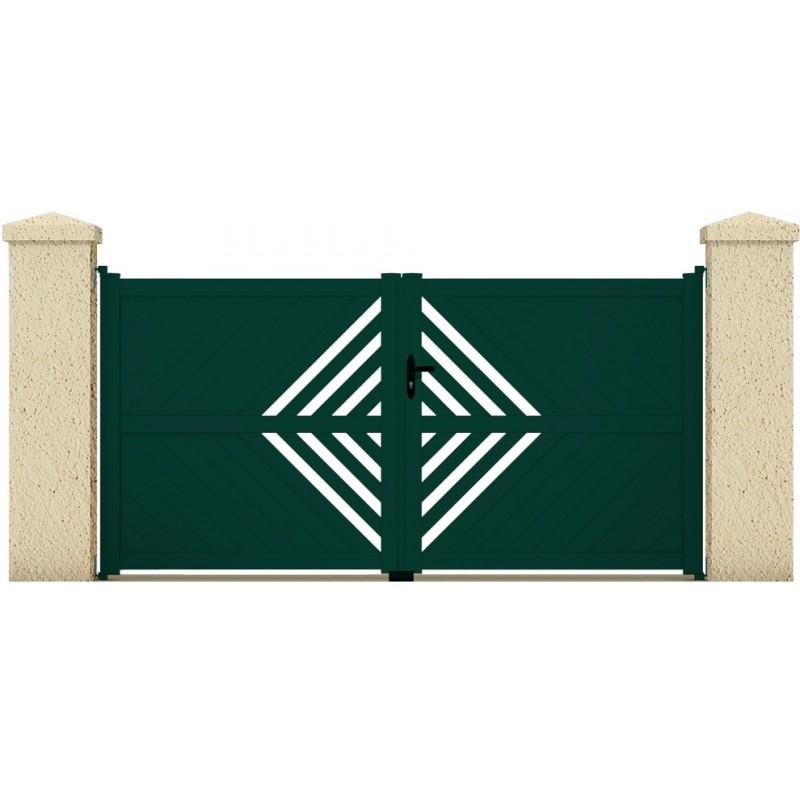 Portail thetys portail cloture de france for Maine cloture portail alu
