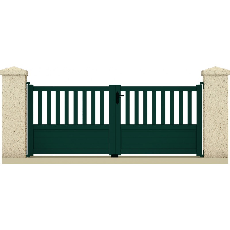 Portail pluton portail cloture de france for Maine cloture portail alu