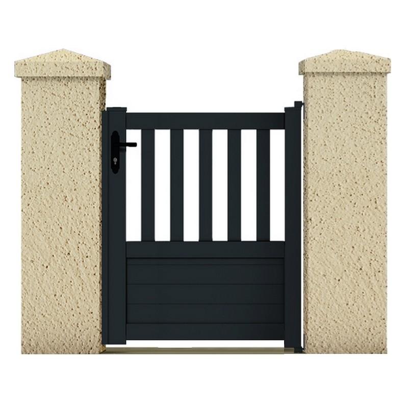 Portillon pluton portail cloture de france for Maine cloture portail alu