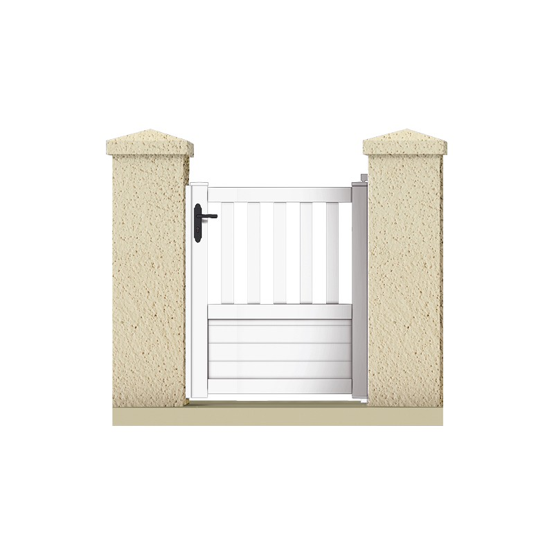 Portillon jupiter portail cloture de france for Portillon pvc