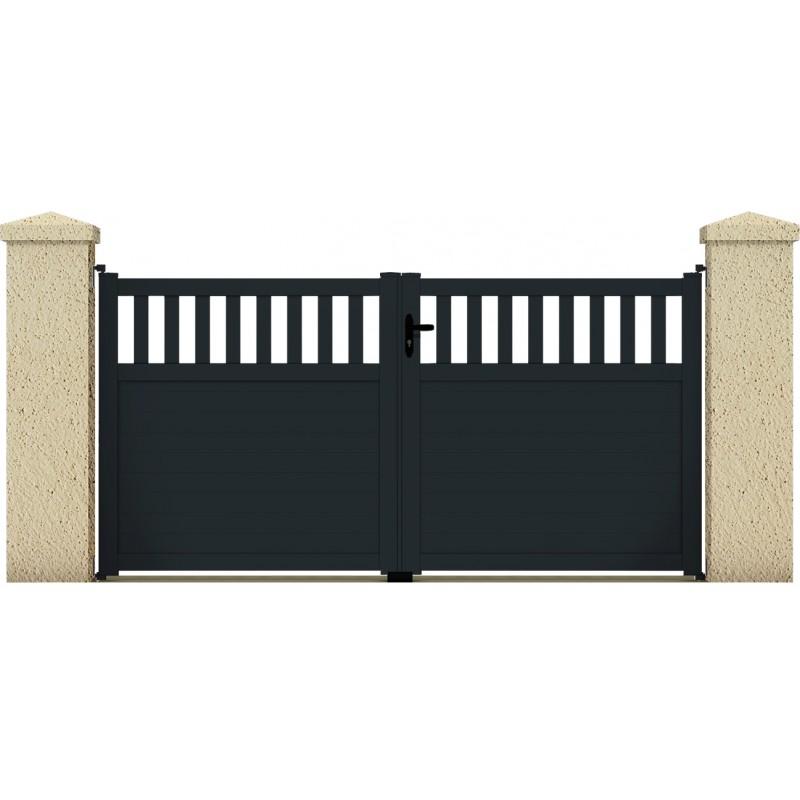 Portail egeon portail cloture de france for Maine cloture portail alu