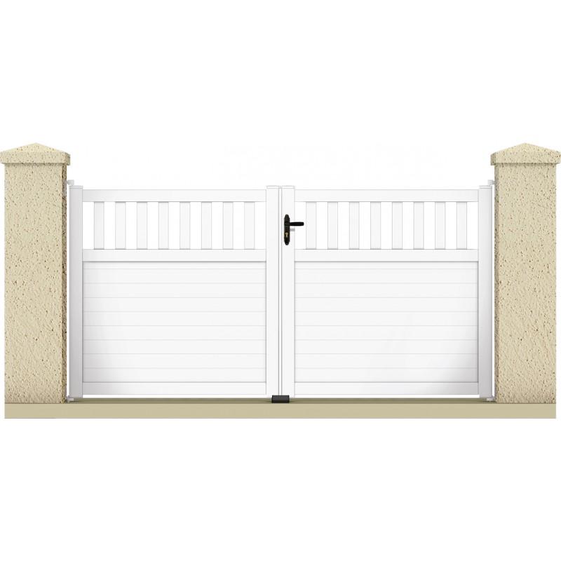 Portail haumea portail cloture de france for Maine cloture portail alu