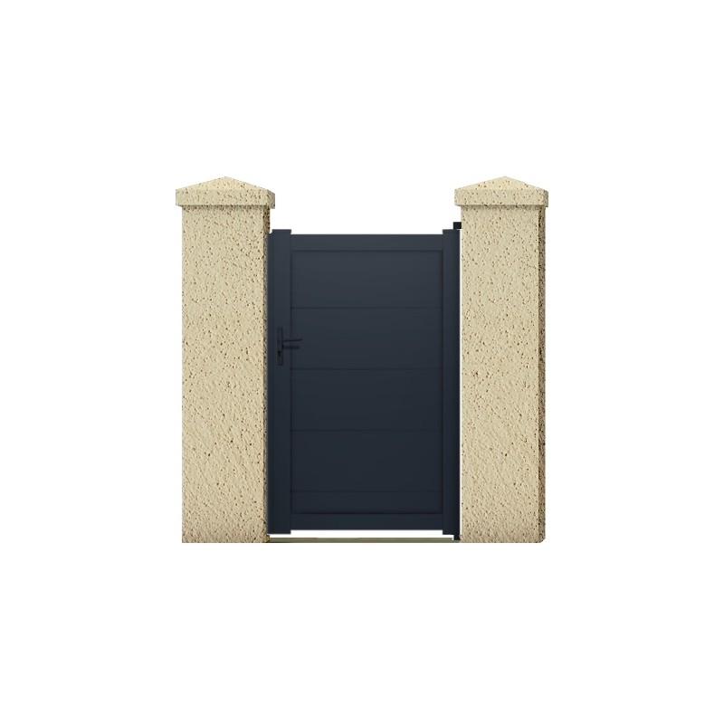 Portillon naiade portail cloture de france for Maine cloture portail alu